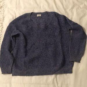 Heather Navy Blue Madewell Sweater